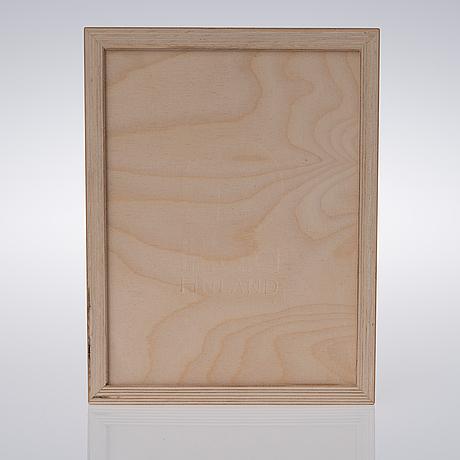 """Harri koskinen, art glass, """"alue"""", signed harri koskinen, iittala 2000 5/30."""