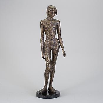 LISS ERIKSSON, skulptur, brons. Signerad och numrerad 2/8. Gjutarstämplar Fonderi Godard Paris.