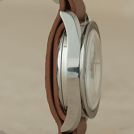 "Universal, geneve, compax, ""tachymètre"", ""nina rindt"", kronograf, armbandsur, 36 mm,"