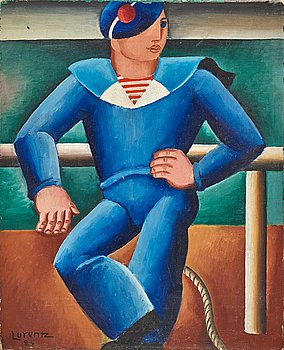 "21. Waldemar Lorentzon, ""Marine Francais"" (Sjöman)."