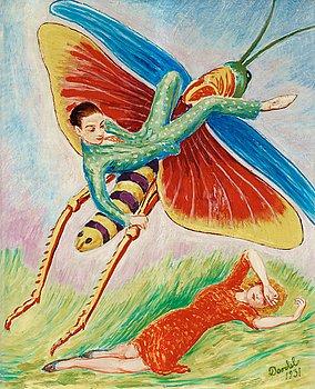 """119. NILS VON DARDEL, """"Gräshoppan"""" (The grasshopper)."""
