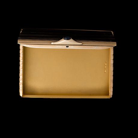 CigarettetuÍ, heikki kaksonen, helsingfors 1939, 18k guld