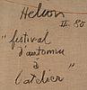 """Jean helion, """"festival d'automne á l'atelier"""""""