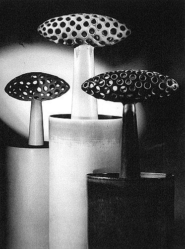 Stig lindberg, a stoneware sculpture/vase, gustavsberg studio 1960.