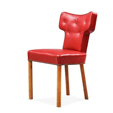 Uno åhrén, an uno åhrén chair, svenskt tenn, sweden circa 1930.