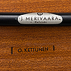 Stolar, 2 st, olof kettunen, tillverkare j. merivaara, 1900-talets mitt.