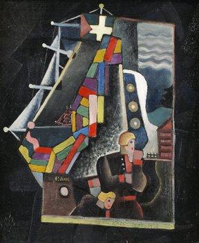 "16. Gösta Adrian-Nilsson, ""Mjölkkusken""."