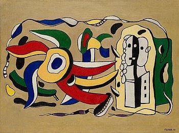 """267. FERNAND LÉGER, """"Composition murale""""."""