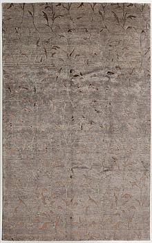 MATTA, Indien, part bamboo silk, nyproducerad, 300 x 200 cm.