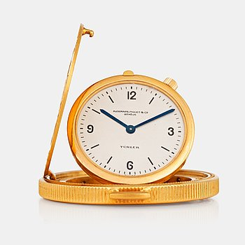 "966. AUDEMARS, PIGUET & Co. Genève, ""Türler"", s.c. Coin watch, 34,5 mm,"