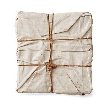 """6. Christo & Jeanne-Claude, """"Wrapped book""""."""
