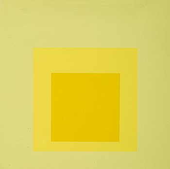 "7. Josef Albers, ""Homage to the Square""."