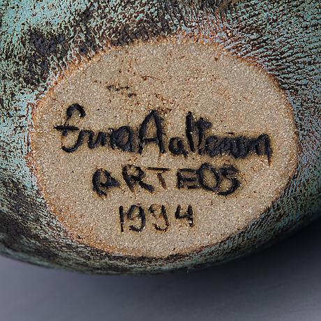Erna aaltonen, keramikskulptur. sign. erna aaltonen, arteos 1994