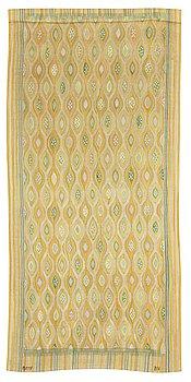 "475. Barbro Nilsson, A DRAPE. ""Kärnfrukt"". A tapestry variant. 243 x 114,5 cm. Signed AB MMF BN."
