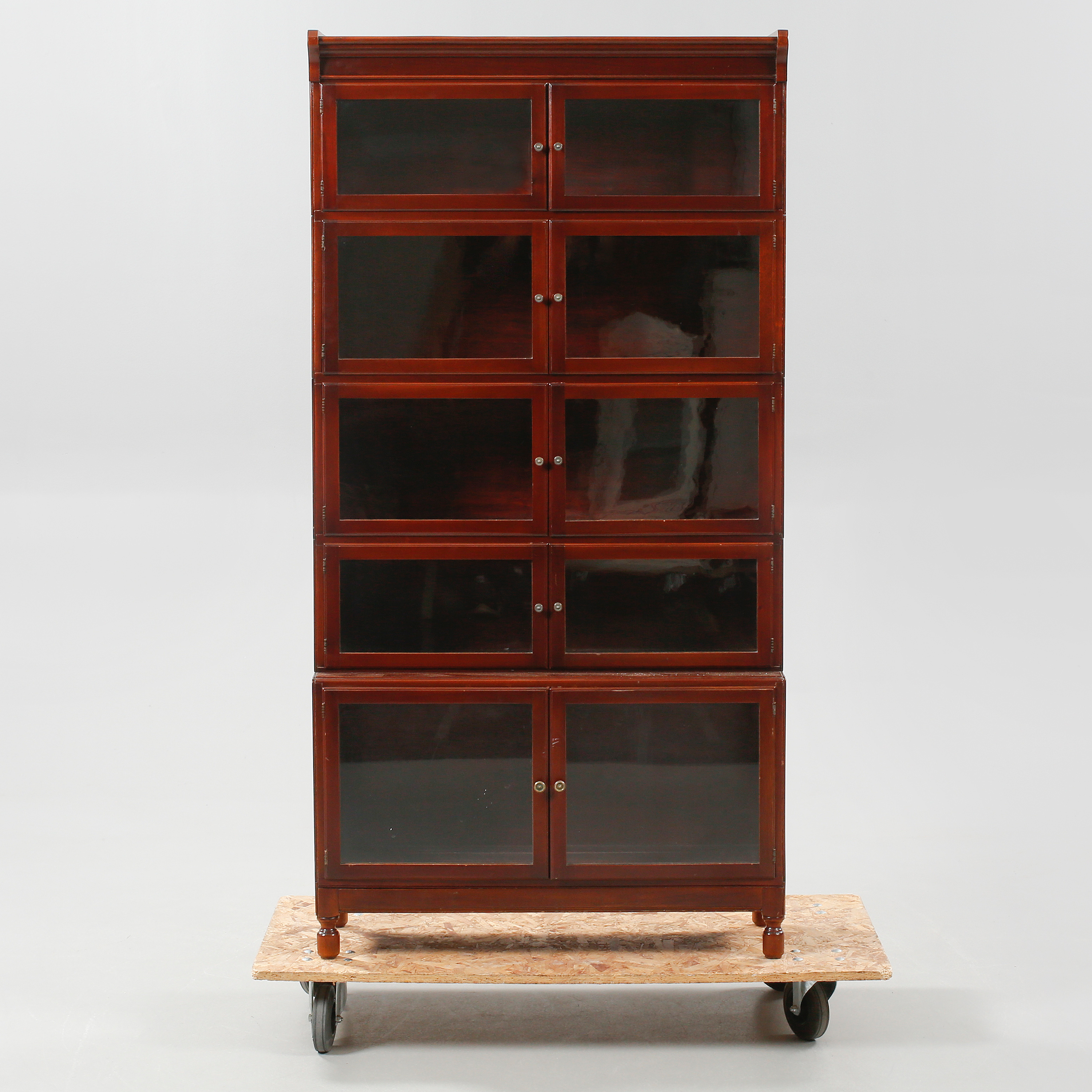 A Barrister Bookcase In Globe Wernicke Style Made Minty