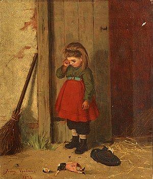 651. Jenny Nyström, The broken doll.
