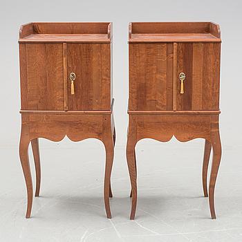 "IKEA, A pair of ""Sandbro"" Ikea cabinets."
