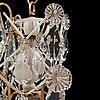 A swedish rococo 18th century four-light chandelier.