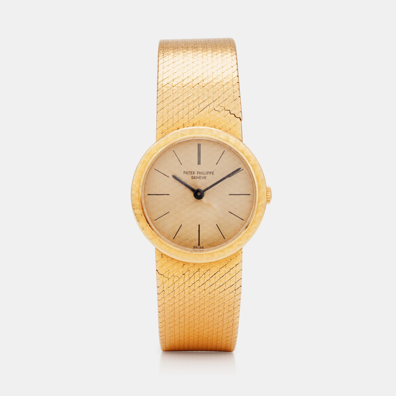 Patek philippe geneve wristwatch 25 mm bukowskis for Patek philippe geneve