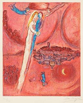 "191. Marc Chagall Efter, ""Le cantique des cantiques""."
