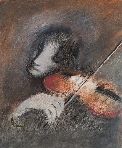 Elvi maarni, fiolspelare