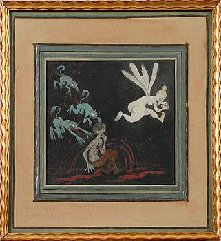 IVAR AROSENIUS, gouache, signed IA, probably painted 1903-1904.