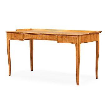 386. CARL MALMSTEN, skrivbord, utfört av Jörgen Andersson, Djursholm 1900-talets mitt.