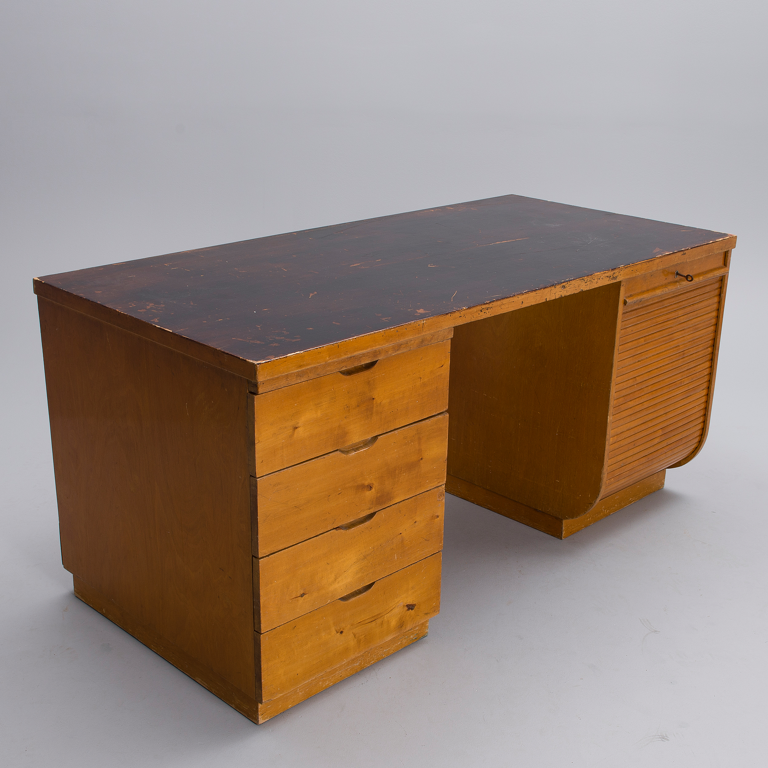 Alvar Aalto Desk Nr 501 And Two Chairs Nr 2 1930
