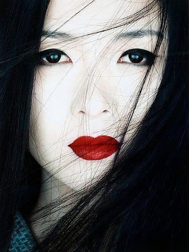 """Albert watson, """"ziyi zhang, los angeles, 2005""""."""