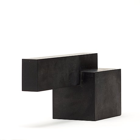 Wiwen nilsson, a geometrical diabase sculpture, sweden 1957.