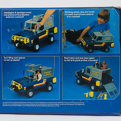 big jim jeep mattel 1981 bukowskis. Black Bedroom Furniture Sets. Home Design Ideas