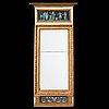 A late gustavian circa 1800 mirror.