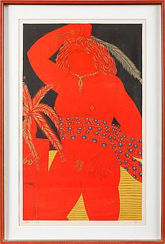 ALEXANDRE FASSIANOS, färgserigrafi, signerad och numrerad 18/20.