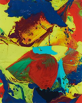"""1. Gerhard Richter, """"Bagdad """" (P10)."""