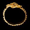 Armband, 14k guld, pärla. 1800 talets mitt
