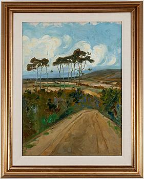 HARALD GALLEN, öljy kankaalle, sign. Harald Gallén 1904.