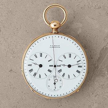 105. H.E. HOLST, Kjöbenhavn, pocket watch, 49 mm,