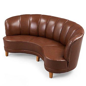 327. Otto Schulz, a Swedish Modern sofa, Boet, Sweden 1930-40's.