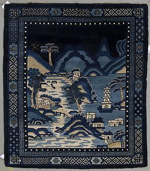 A Chinese figural Baotou, 181x158 cm.