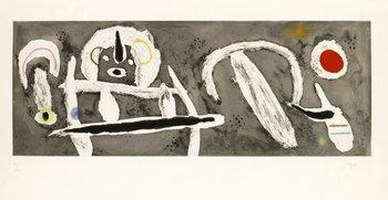 """366. Joan Miró, """"Grand vent""""."""