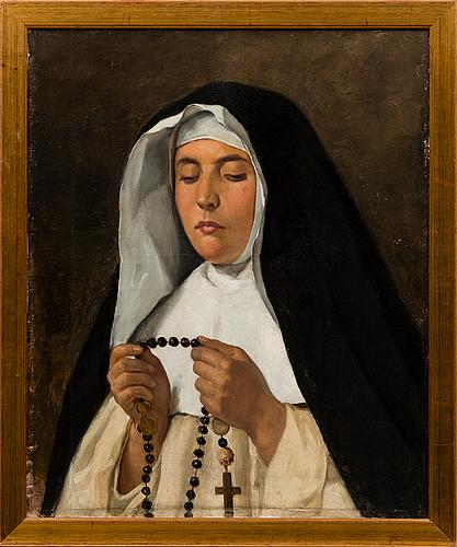 """Adolf von becker, """"italiensk nunna"""""""