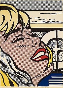 """11. Roy Lichtenstein, """"Shipboard Girl""""."""