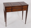 Damarbetsbord, 1800/1900-tal.