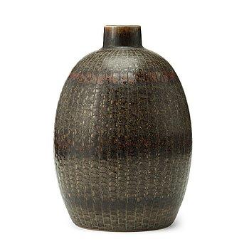 57. Carl-Harry Stålhane, A Carl-Harry Stålhane stoneware vase, Rörstrand, Sweden 1963.