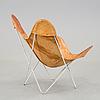 """Fåtölj, s.k. """"butterfly-chair"""", 1970-talets början."""