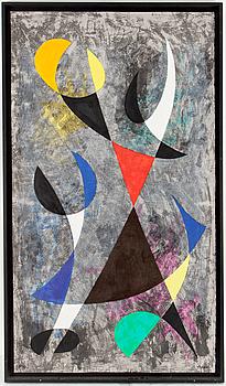PIERRE OLOFSSON, färgserigrafi, signerad och numrerad 60/86.