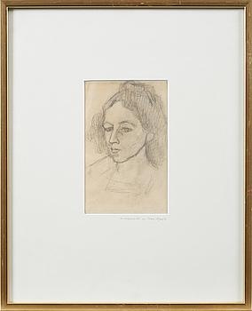 Two drawings by Ivan Aguéli.