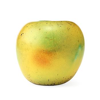 HANS HEDBERG, äpple av fajans, Biot, Frankrike.