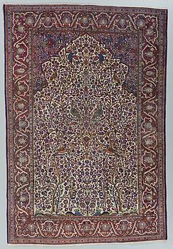 MATTA, semiantik silke Keshan, ca 198,5 x 137 cm.
