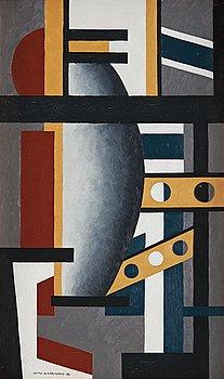 """56. Otto G Carlsund, """"Dekorativ komposition""""."""